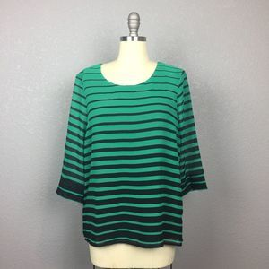 BNWT! •XXI• Striped Blouse